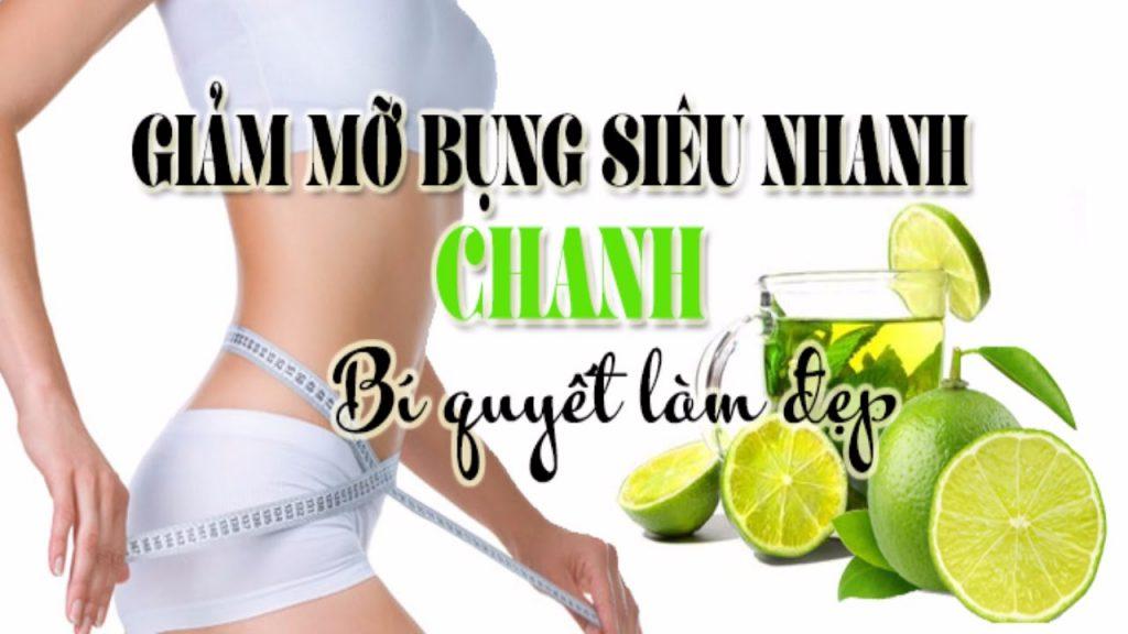 Giúp giảm cân nhờ Chanh