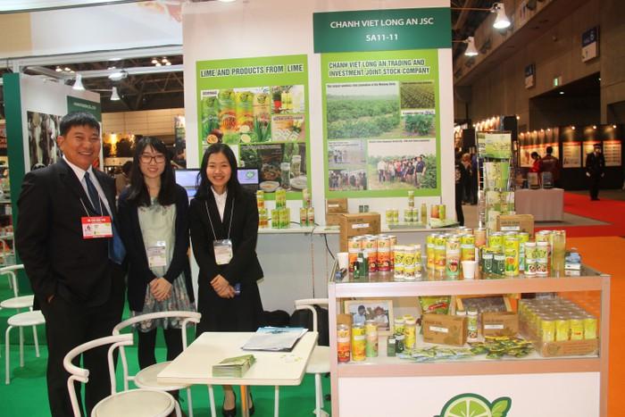 Công ty Chanh Việt tham dự hội chợ quốc tế Foodex Japan 2018