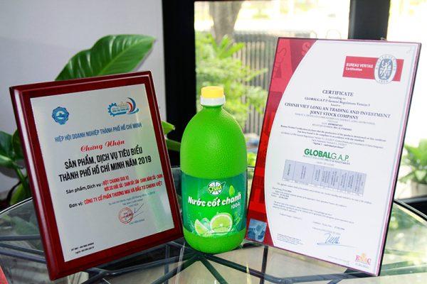 Nước chanh Long An Công ty Chanh Việt