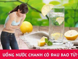 Uống nước cốt chanh có làm đau bao tử?