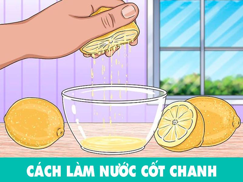 Cách làm nước cốt chanh ngon tại nhà
