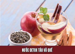 Detox Táo và Quế giúp giảm cân hiệu quả