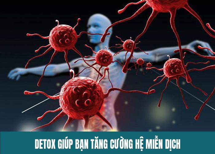 Công dụng detox trái cây giúp tăng cường hệ miễn dịch